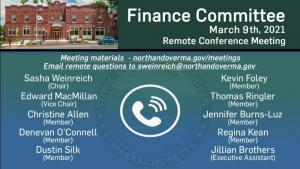 Finance Committee - 03.09.2021