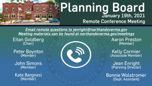 Planning Board - 01.19.2021