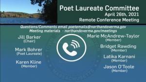 Poet Laureate Committee - 04.26.2021