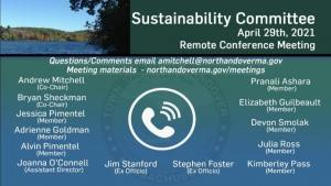Sustainability Committee Meeting - 04.29.2021