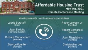 Affordable Housing Trust - 05.04.2021