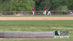 Scarlet Knights Baseball - Varsity vs Central Catholic - 05.22.2021