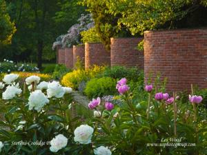 ![CDATA[ Leslie Wood - Stevens-Coolidge Place - French Garden ]]