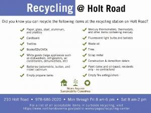 ![CDATA[ recycling at Holt Road horizontal ]]