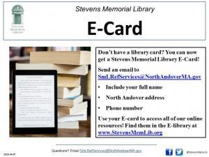 ![CDATA[ StevensMemLib E-card Flyer ]]