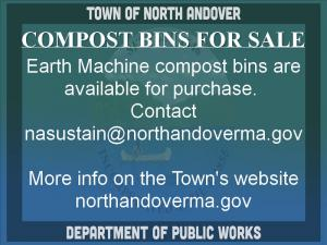 ![CDATA[ COMPOST BINS FOR SALE; ; Earth Machine compost bins are available for purchase at the DPW, during... ]]