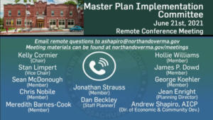Master Plan Implementation Committee - 06.21.2021