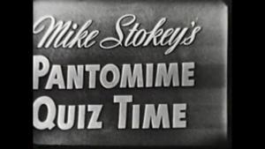 TV Rewind - Pantomime Quiz - 1950