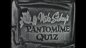 TV Rewind - Pantomime Quiz - 1955