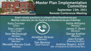 Master Plan Implementation Committee - 09.13.2021