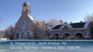 St Michaels Church - Saturday Mass - 10.02.2021